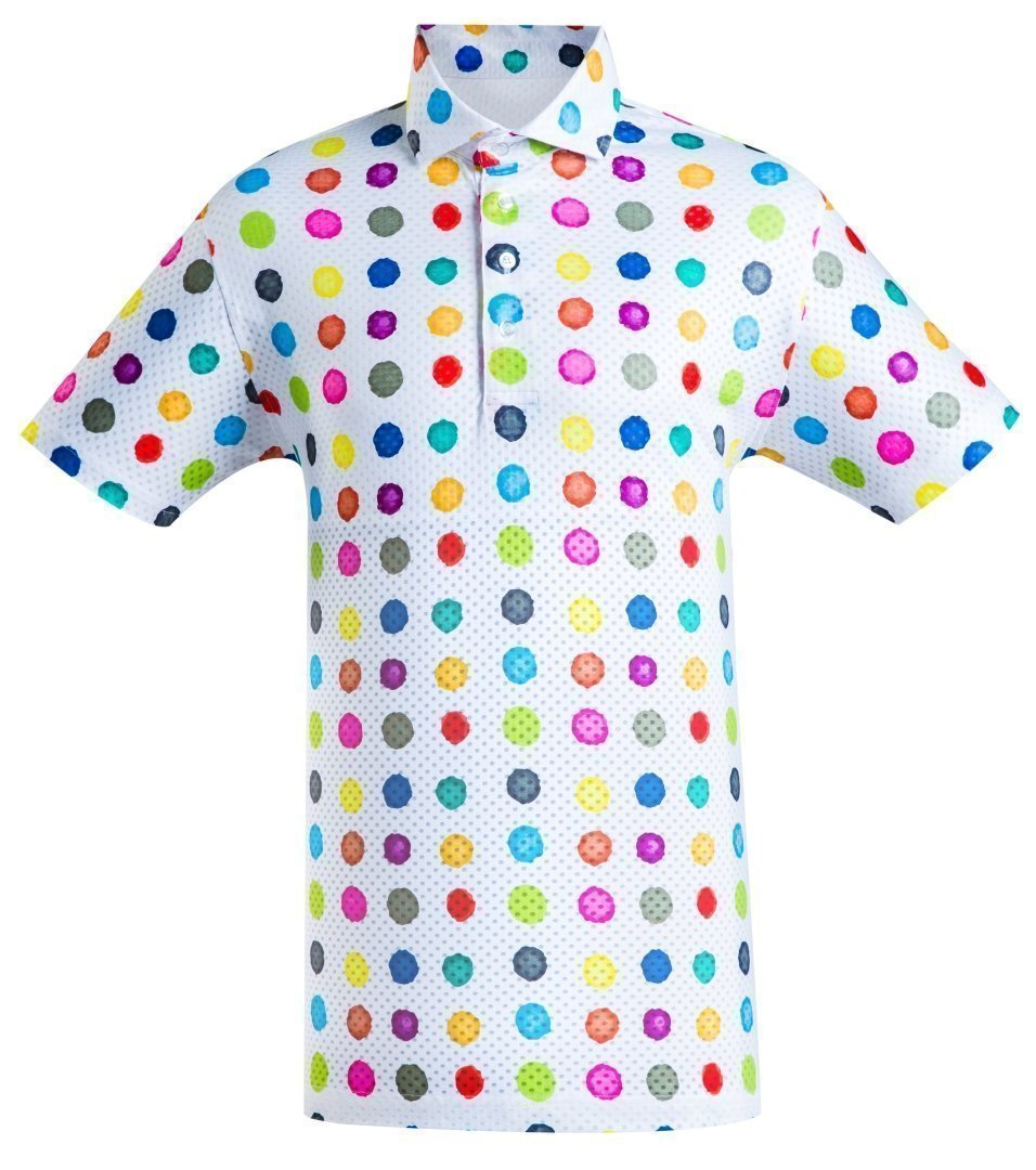 Golf Shirt – Crafted Dots