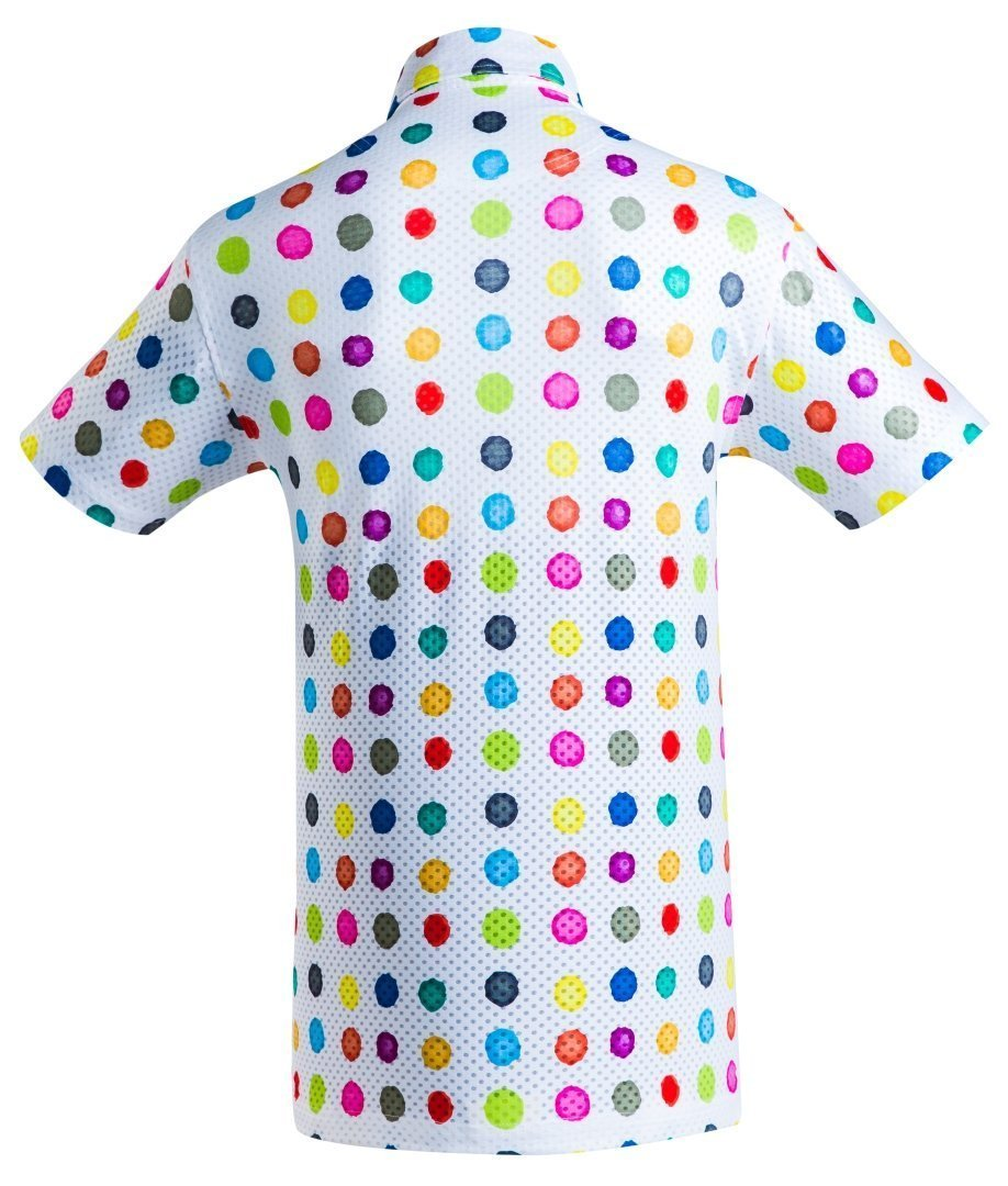 Golf Shirt - Crafted Dots