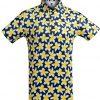 Golf shirt - Frangipani