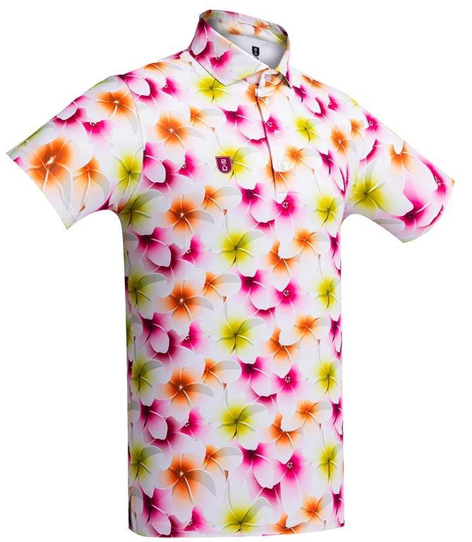Golf shirt FRANGIPANI