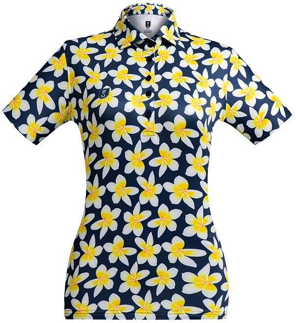 Golf Shirt – Frangipani