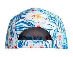 Cap - Blue Tropical WC Palm