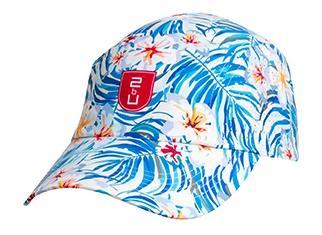 Cap – Blue Tropical WC  Palm