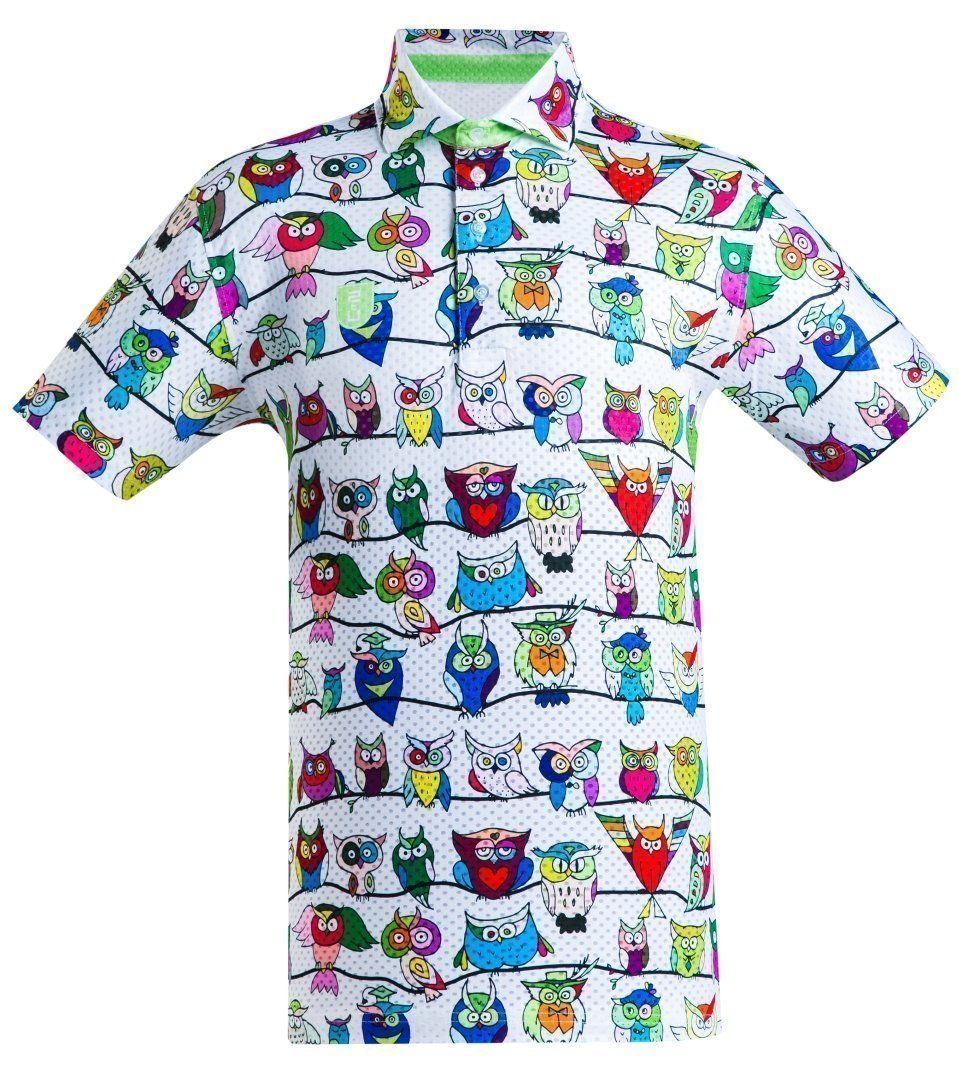 Golf Shirt - Funny Owls