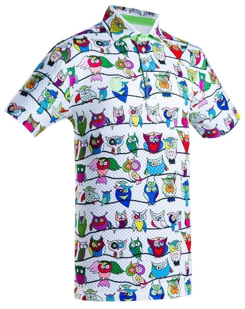 Golf Shirt – Funny Owls