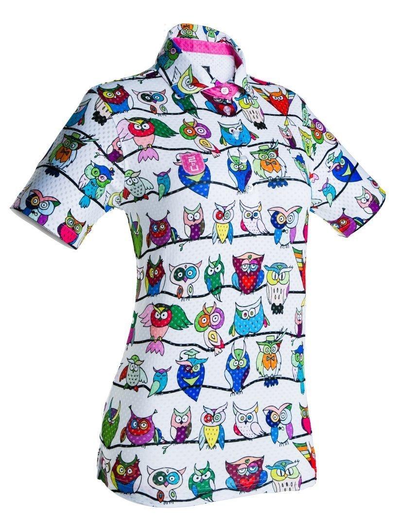 Golf Shirt - Funny Owls