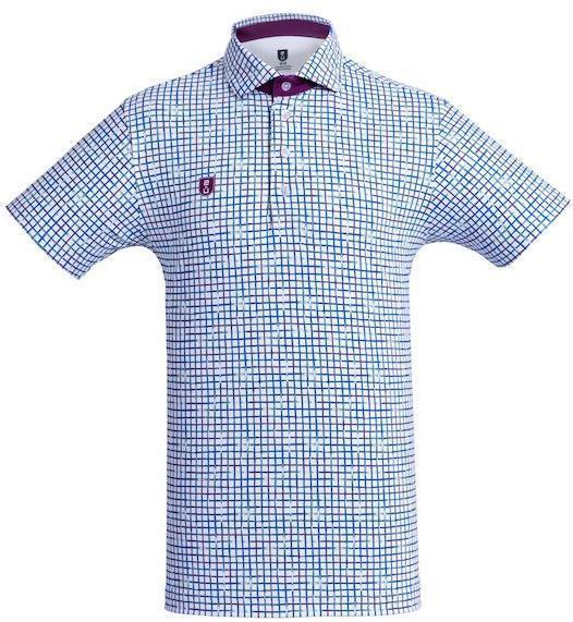Golf Shirt - Purple Checkered'10