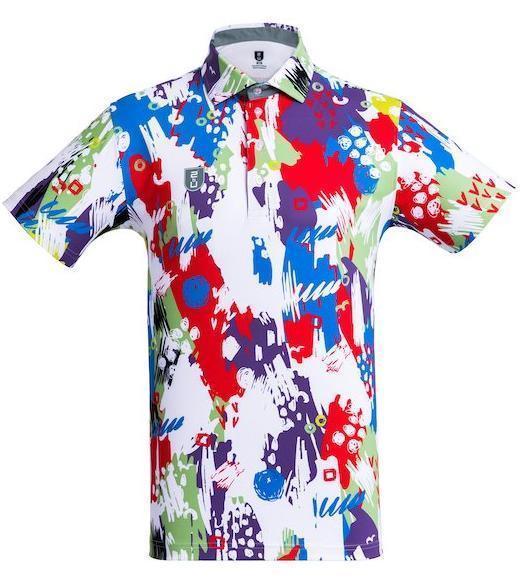 Golf Shirt - Teal Songkran