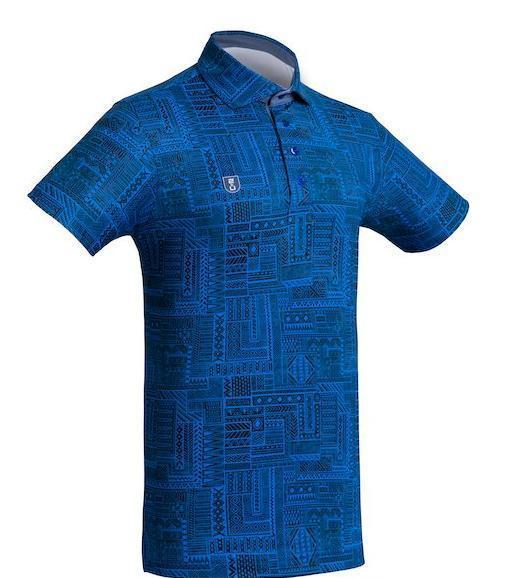 Golf Shirt - Dark Blue Indigenous