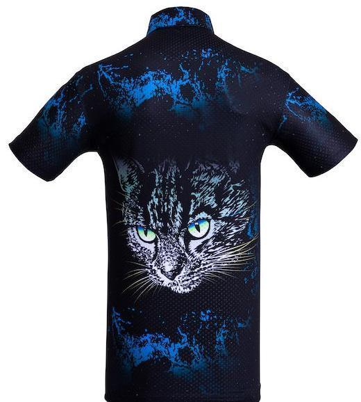 Golf shirt - Blue Cat
