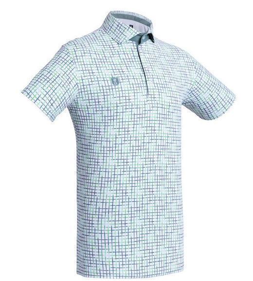 Golf Shirt - Green Checkered '10