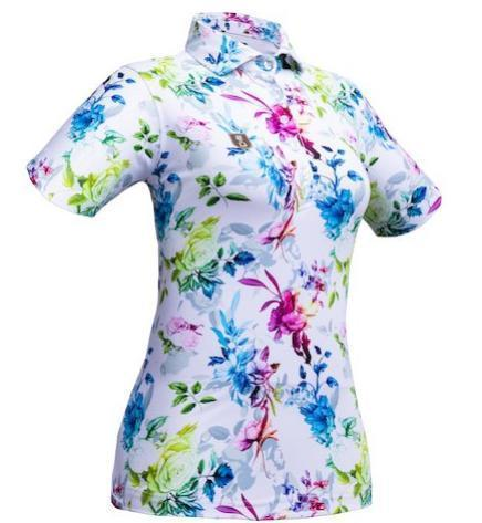 Golf Shirt – Flower