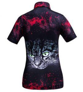 Golf Shirt - Red Cat