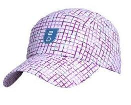 Cap - Purple Checkered'10