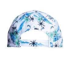 Cap - Light Blue Palms