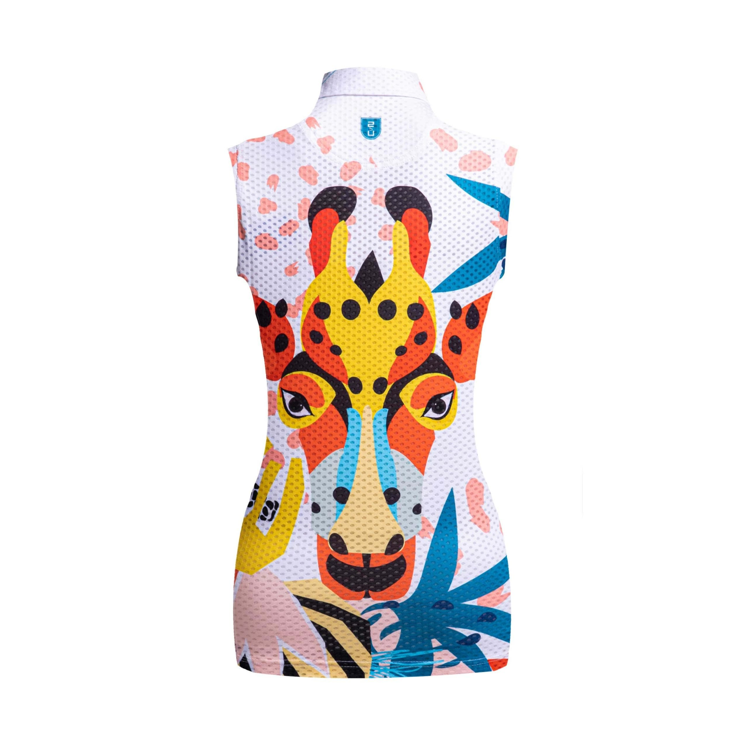 Golf shirt - Giraffe (sleeveless)
