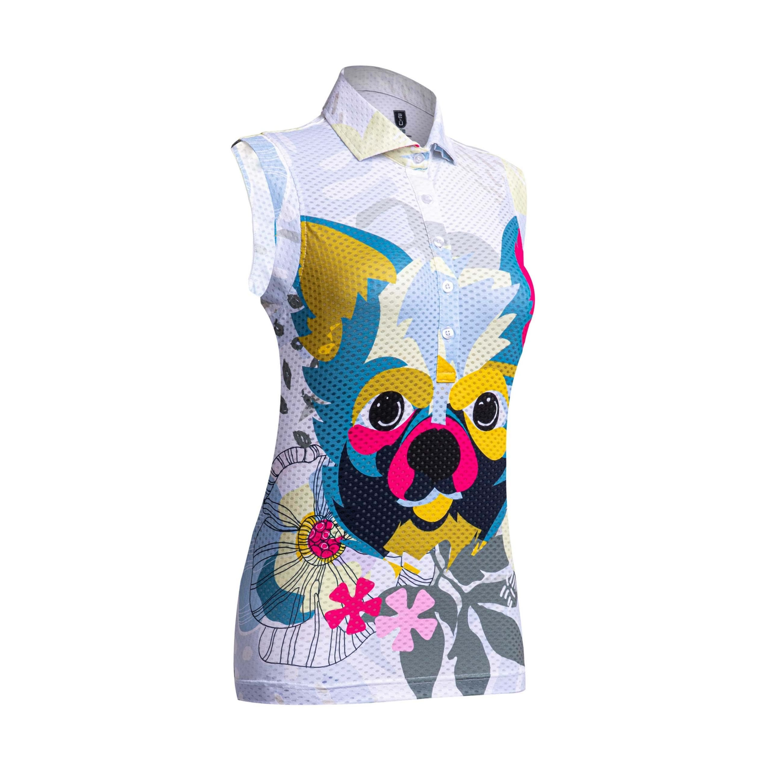 Golf Shirt – Chihuahua (Sleeveless)