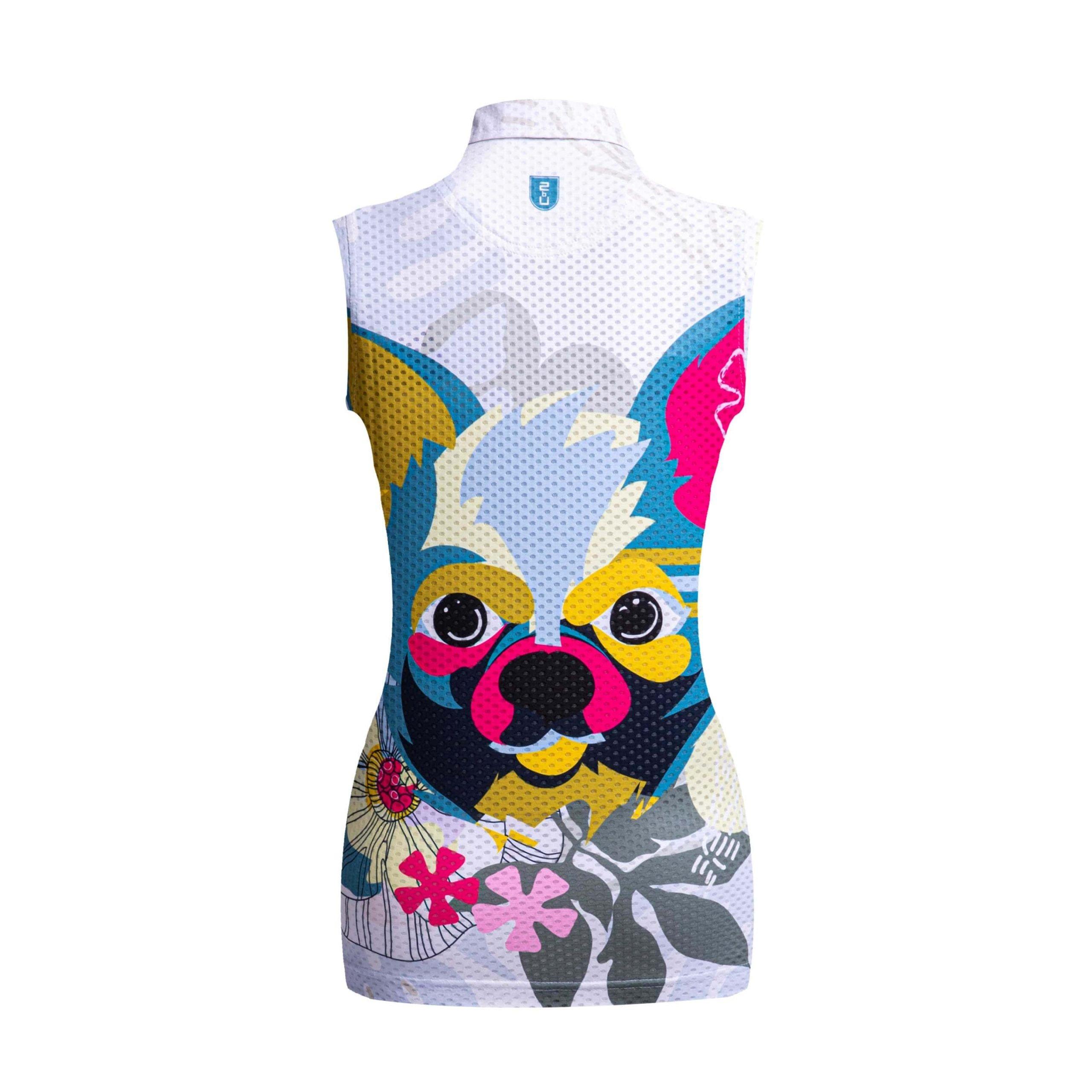 Golf shirt - Chihuahua (sleeveless)