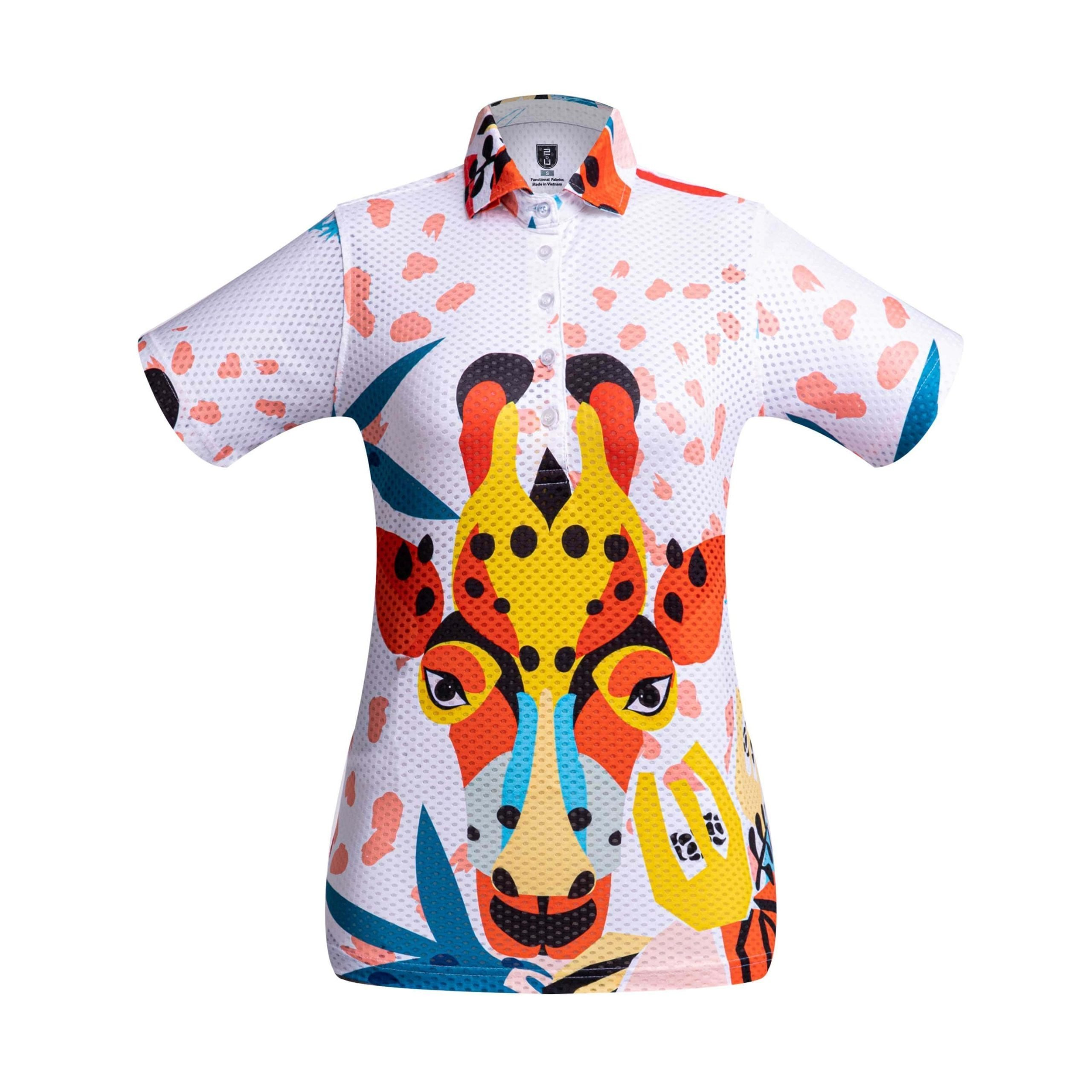 Golf Shirt – Giraffe
