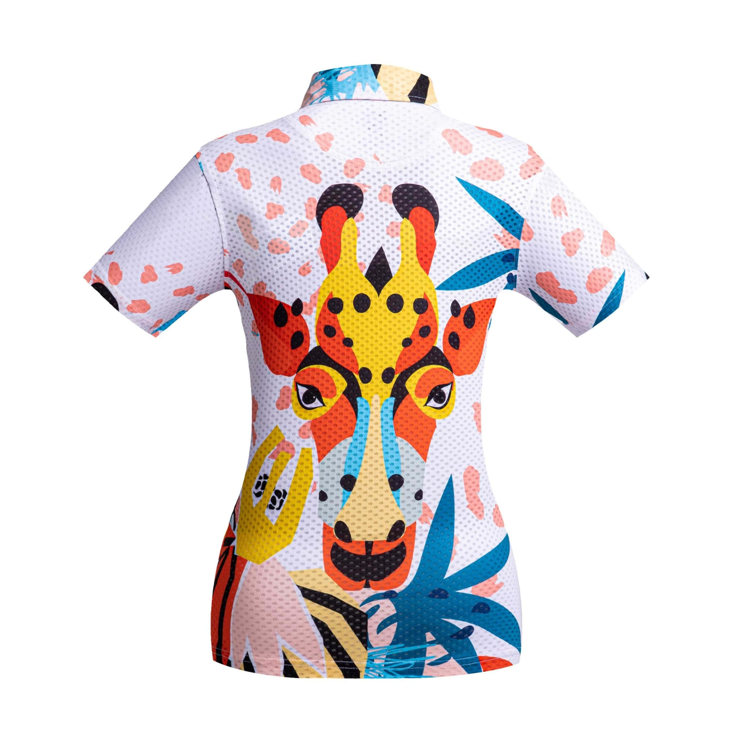 Golf shirt - Giraffe
