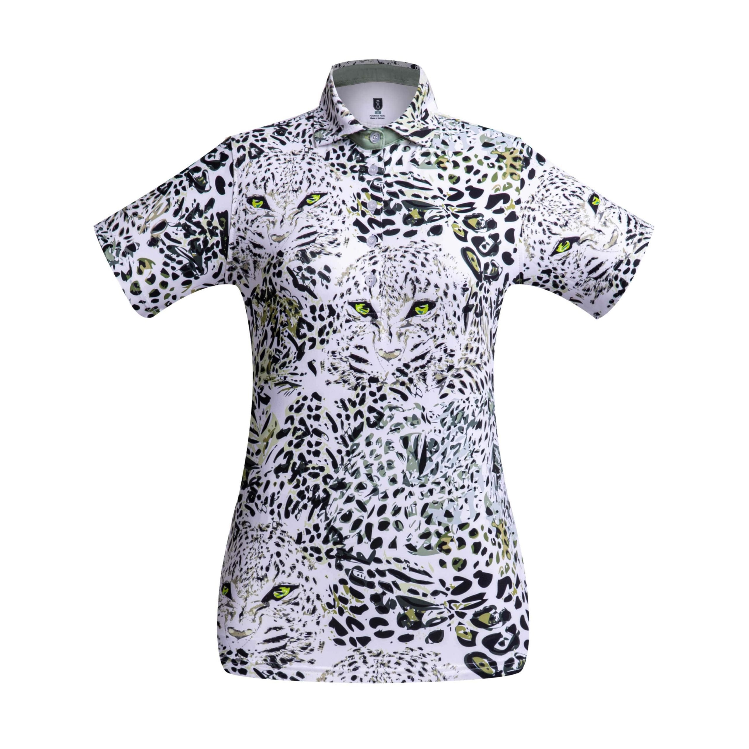 Golf Shirt – Leopard