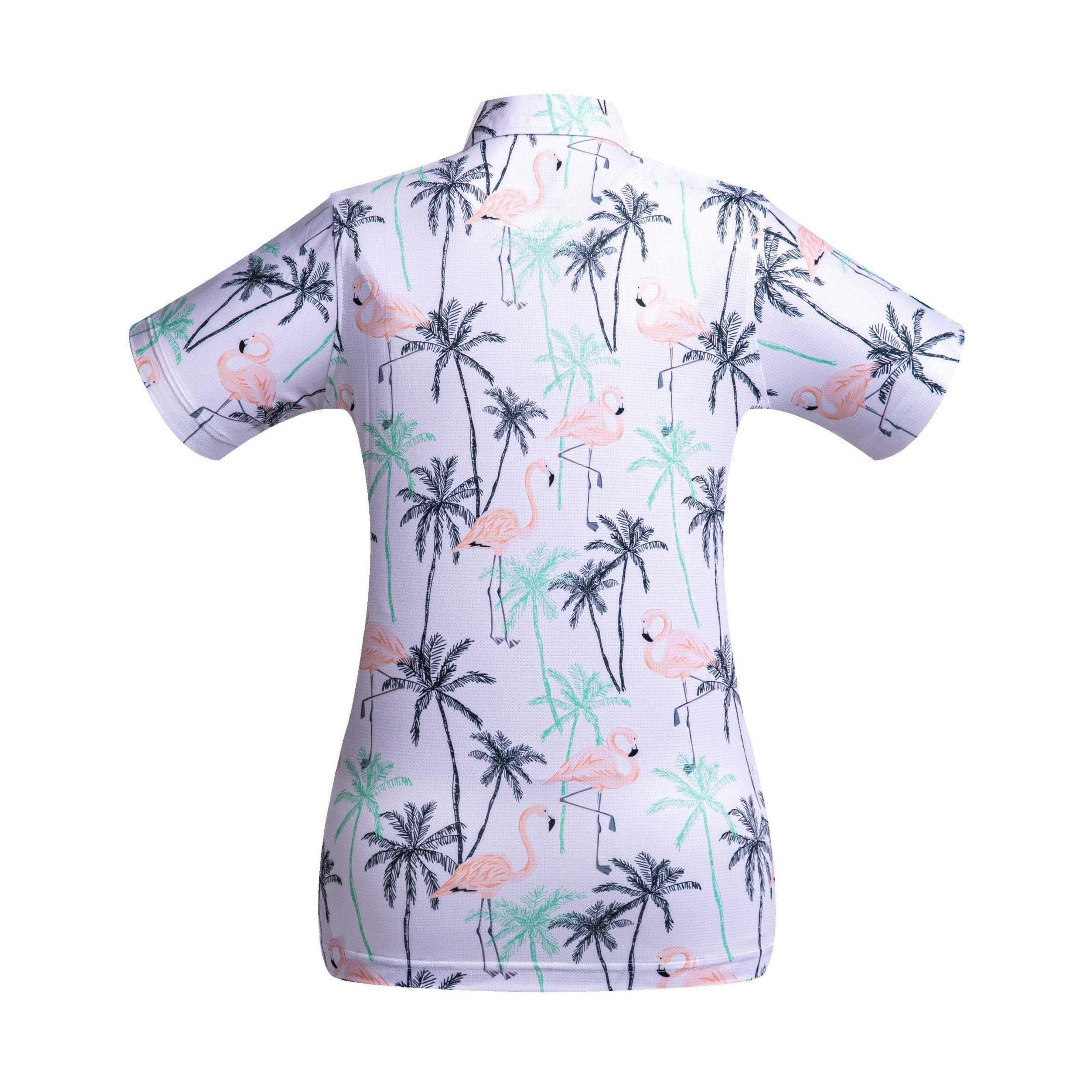 Golf shirt - Pink Flamingo