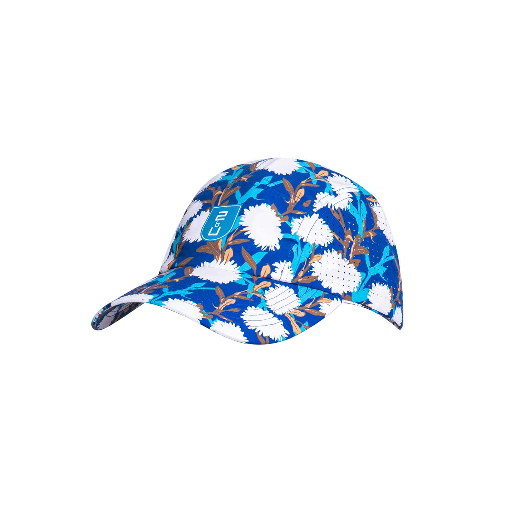 Cap – Bright Blue Flower