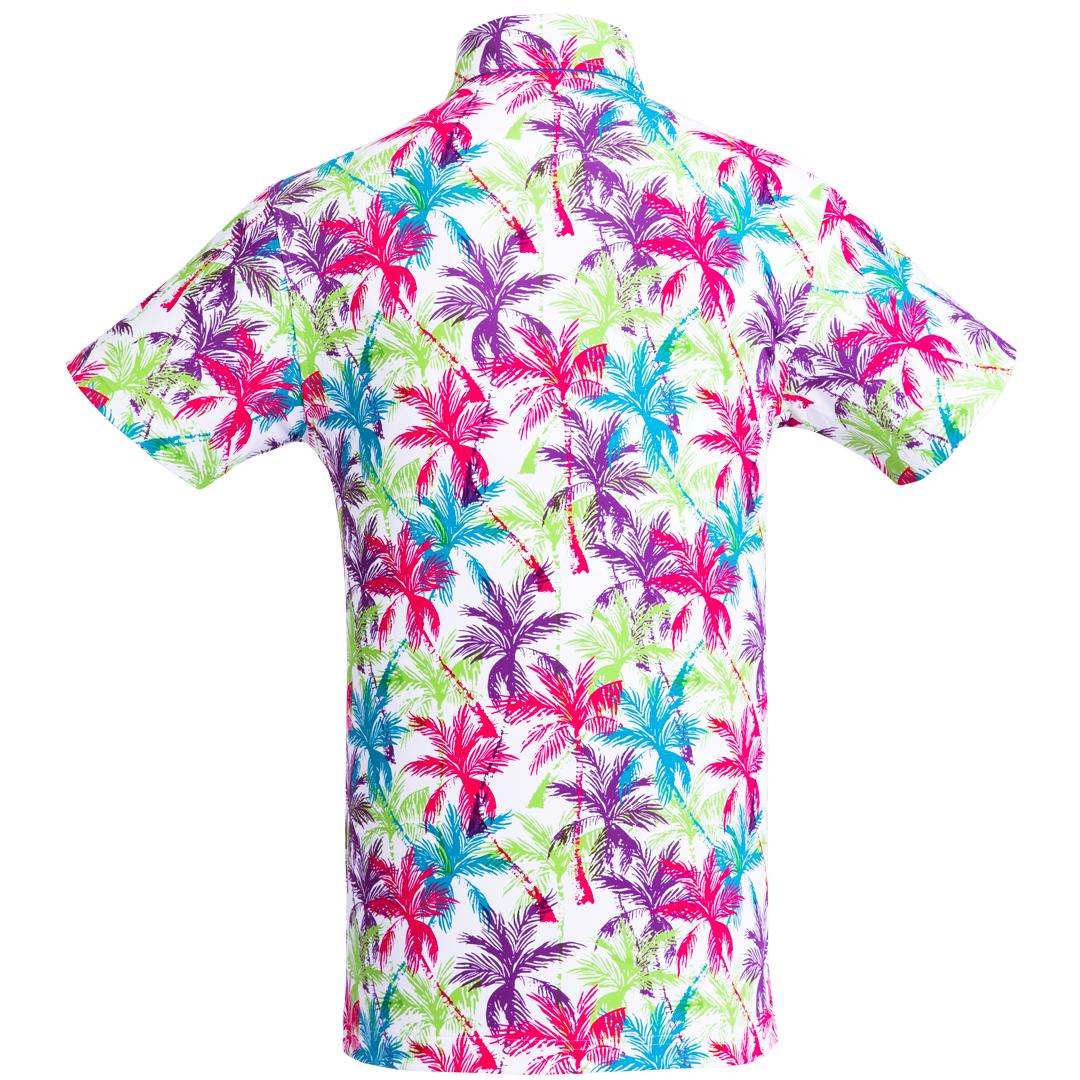 Golf shirt - Tropical Palmtrees