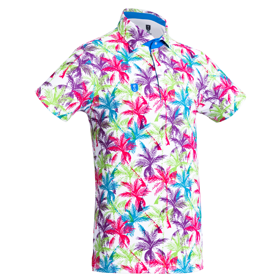 Golf shirt - Tropical Palmtrees