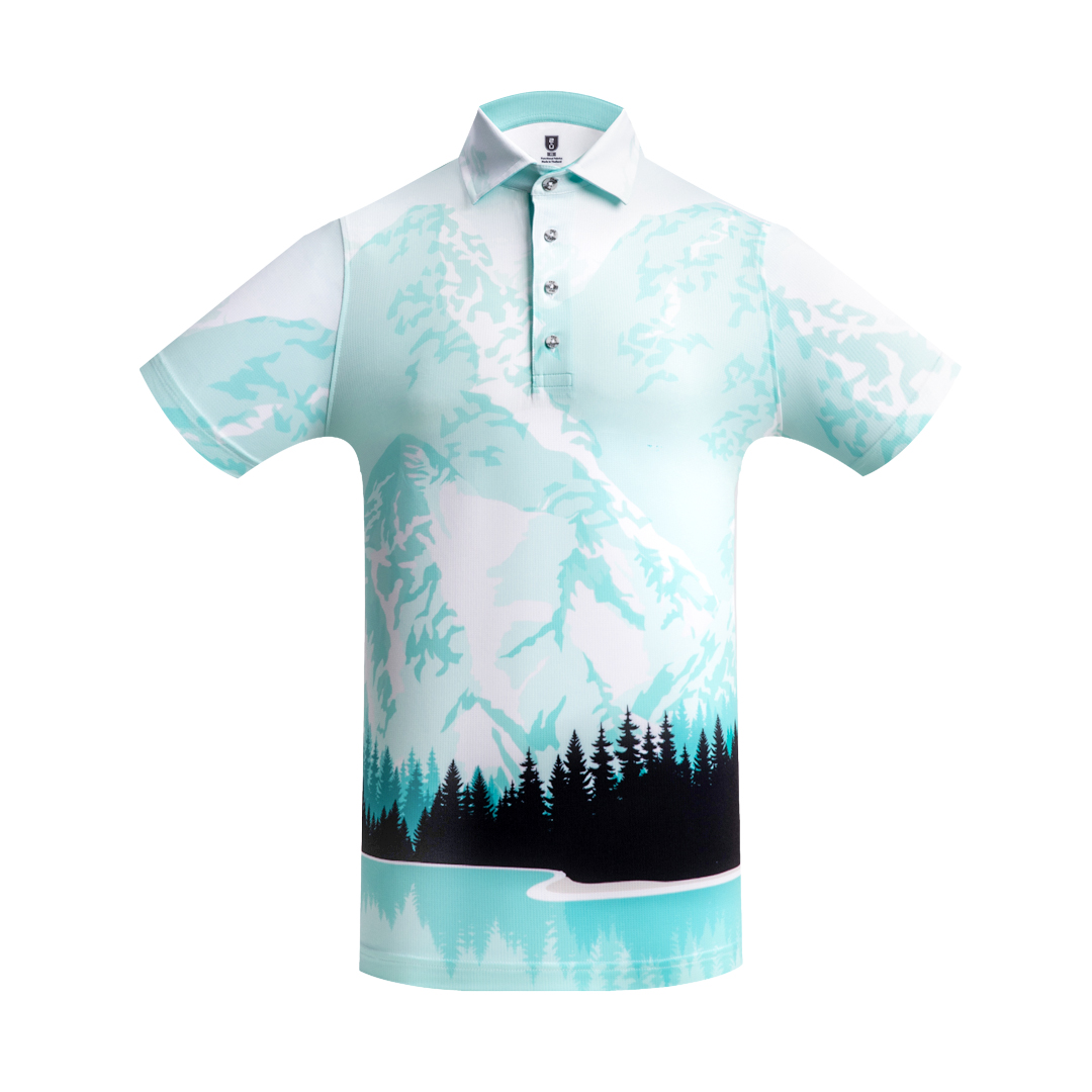 Golf Shirt – Snow Mountains