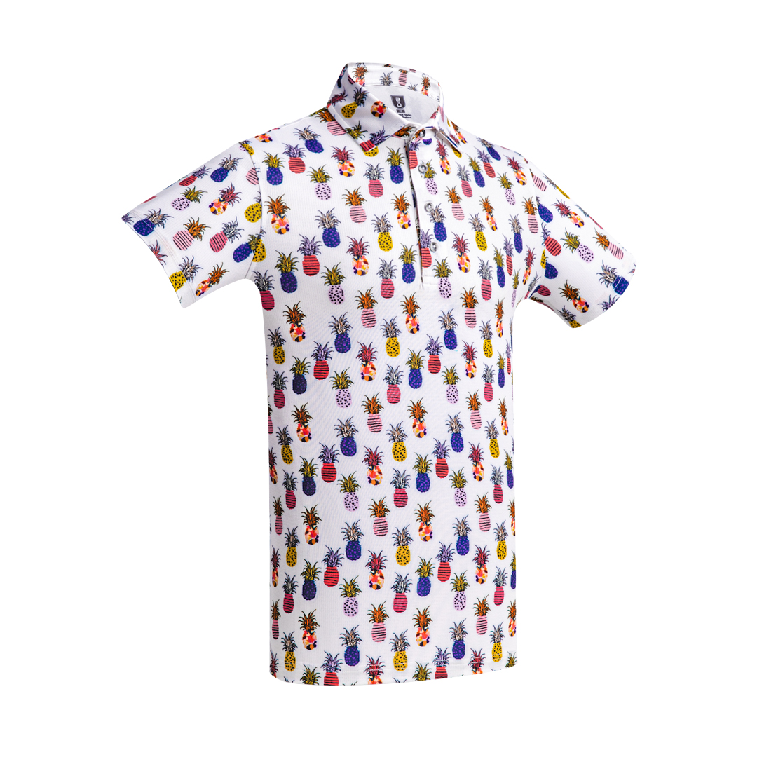 Golf Shirt – Pineapple '21