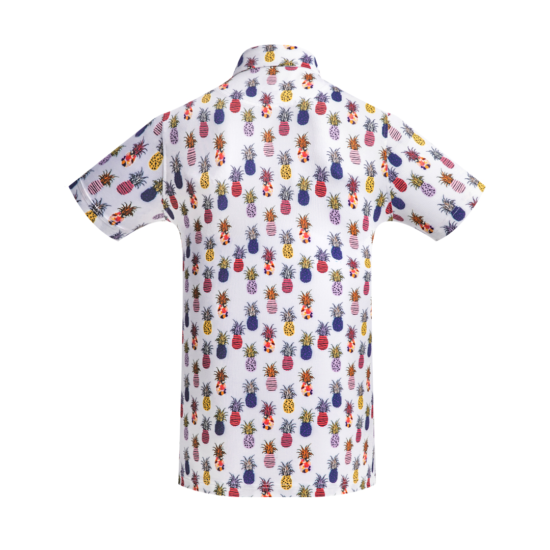 Golf Shirt - Pineapples