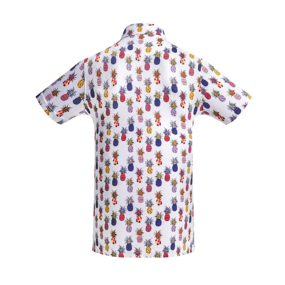Golf Shirt - Pineapples
