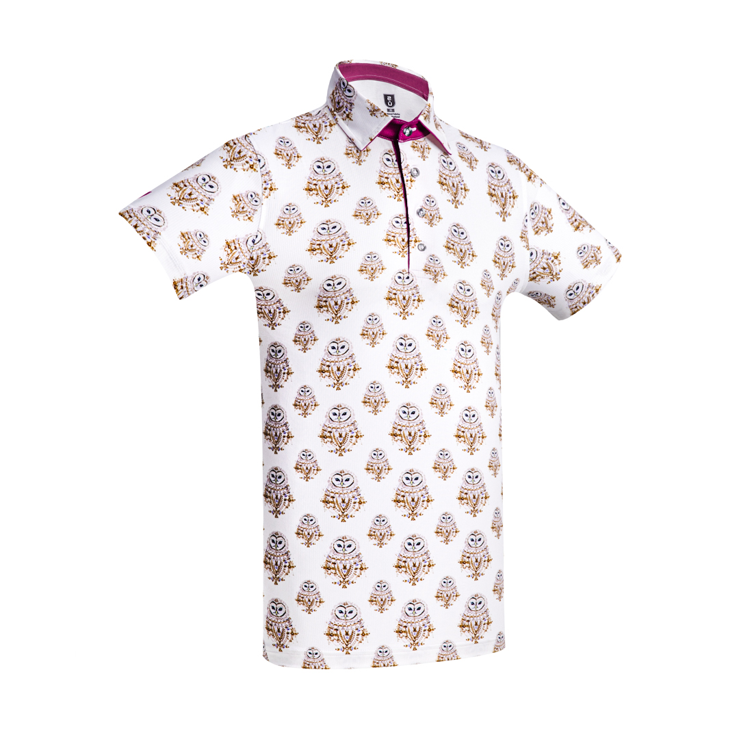 Golf Shirt - Owls