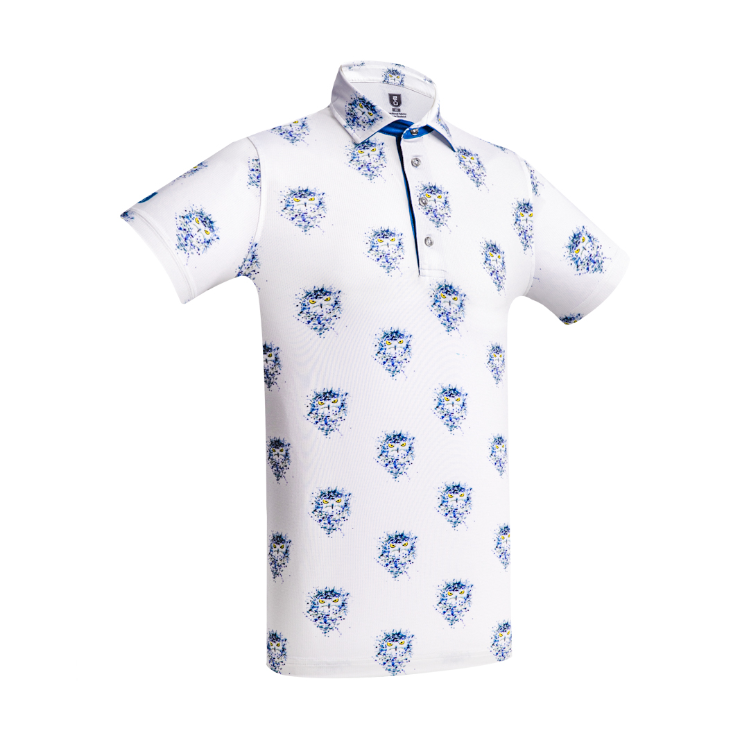 Golf Shirt – Dotted Owls