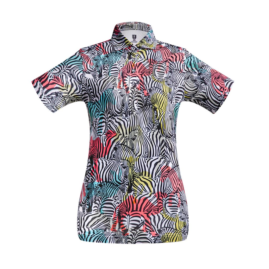 Golf Shirt - Zebra