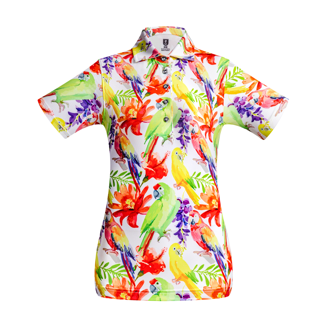 Golf Shirt – Parrots