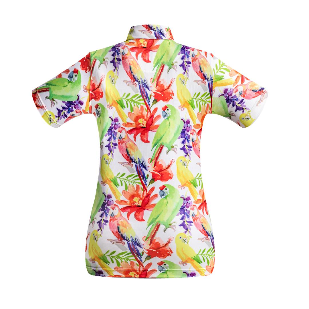 Golf Shirt - Parrots