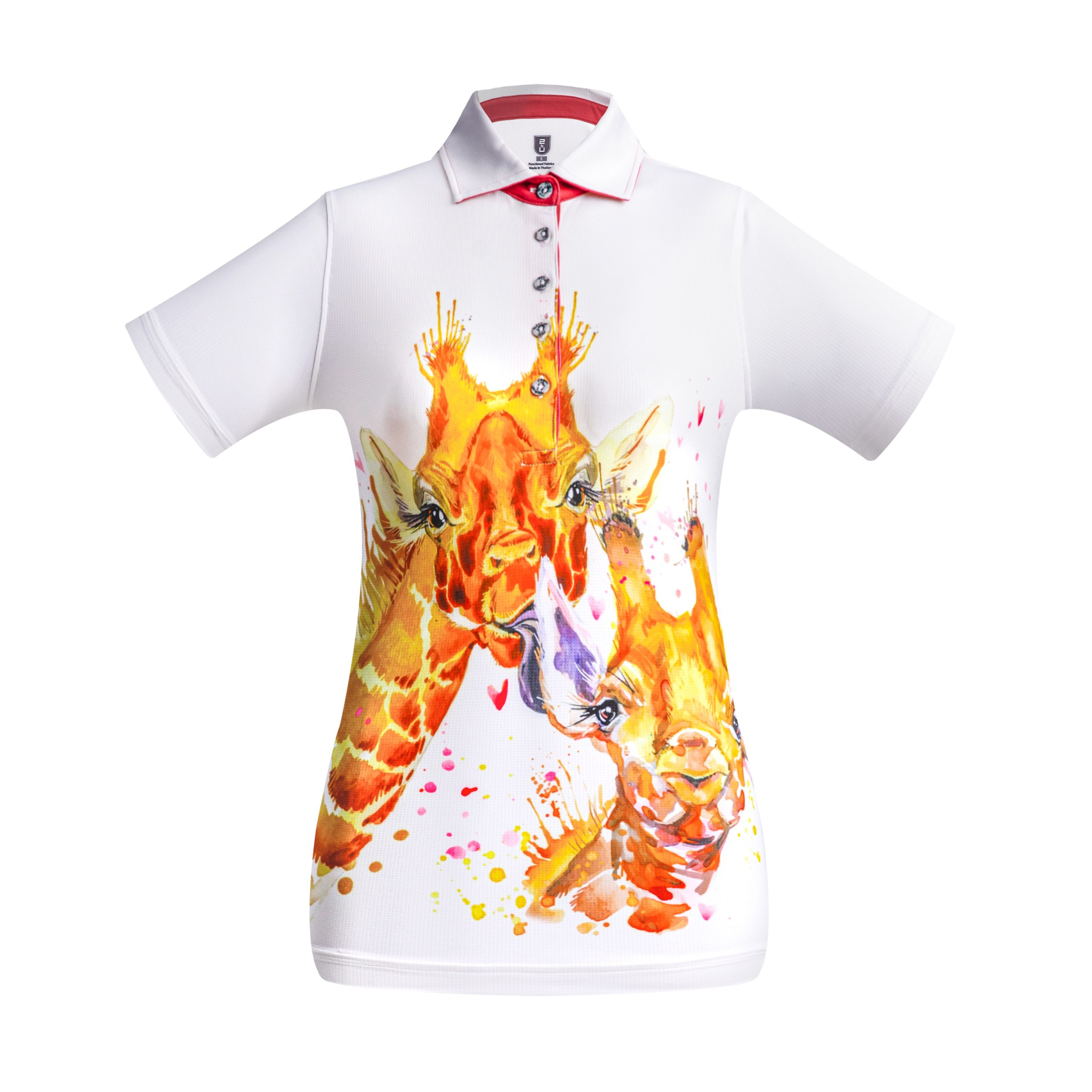 Golf Shirt – Pretty Giraffes