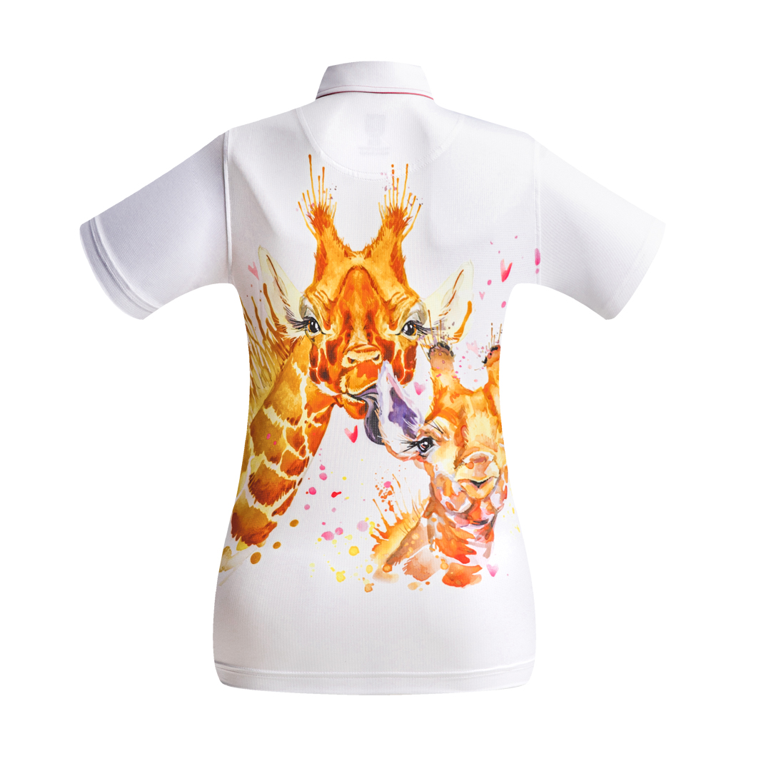 Golf Shirt - Giraffes